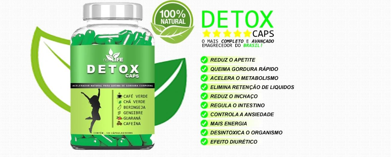 detox caps preço